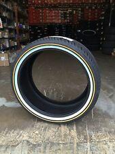 NEW RELEASE 4- 305/35-24 Custom Built Radial SCT 112H VOGUE TYRE GOLD & WHITE