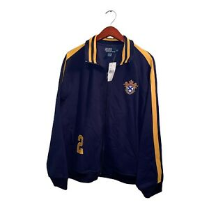 Ralph Lauren Polo Track Jacket Crested Patch Logo #2 Full Zip XL MSRP $89 NEW