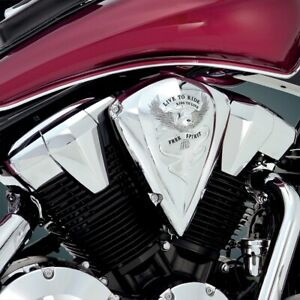 Show Chrome 55-354 Air Cleaner Cover Free Spirit