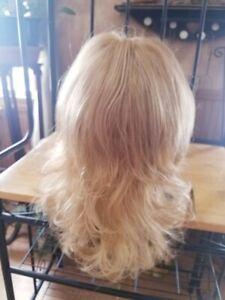 JON RENAU WIG NEW WITH TAGS Mono Top Soft Waves Medium Blonde