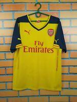 Arsenal Jersey 2014 2015 Away M Shirt Puma Football Soccer Trikot Maglia