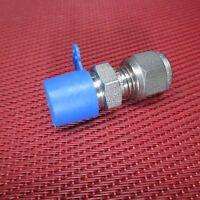 SSP Grip® 1/4 Tube OD x 1/4 NPT Male Pipe STRAIGHT CONNECTOR 316 Stainless Steel