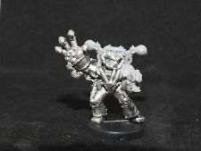 WARHAMMER 40K CHAOS SPACE MARINES NIGHT LORD ASPIRING CHAMPION A, METAL, OOP