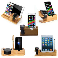 Charging Dock Station Charger Holder Stand For Apple Watch iPhone X iPad Tablet