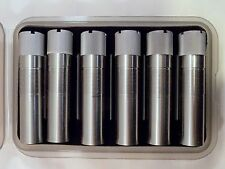 Set Of 6 Six Briley Stainless Beretta Optima Hp Choke Tubes With Free Case