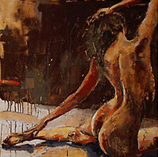 CHENPAT1545 fine abstract girl 100% hand painted oil painting  art on canvas