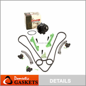 Timing Chain Kit Water Pump for Cadillac Deville Seville Oldsmobile Pontiac 4.6L