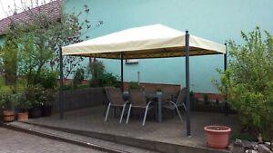 PROFI Pavillon Ersatzdach nach Maß gefertigt, 4 m x 3m  aus LKW Plane 680g/m²