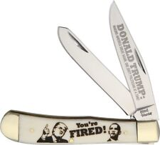 Donald Trump Pocket knife President Trump You're Fired Trapper Free Shipping USA