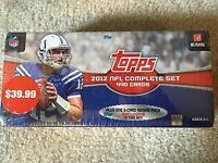 2012 TOPPS FOOTBALL CARD COMPLETE SET, NEVER OPENED, ROOKIE
