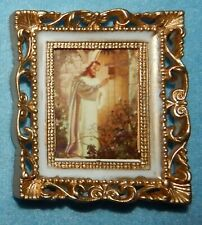 "Jesus at Heart's Door Picture in Frame - 2 5/8"" x 2 1/4"" - New"
