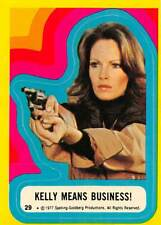 1977 Topps Charlies Angels Sticker #29 Kelly Means Business!  > Jaclyn Smith💎