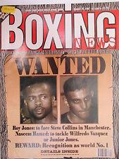 Boxing News  29 Aug 1997 Jones Hamed Bernard Paul Paul Burke Tania Follett,