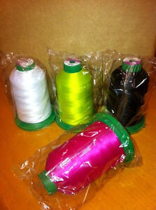 5000m Isacord thread any  COLOR (colors 2123-3114)