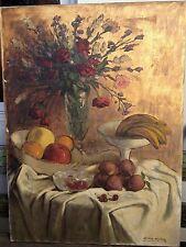 Gorgeous, Rafael Cuenca Muñoz (1895-1967) Spanish painter - Oil on canvas.