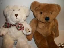 Two 1980s Plush Teddy Bears, Hallmark & Bryon, 9�