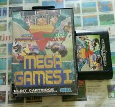 Mega games 1/Sega megadrive. Boîte + jeu. Box + game. Pal . Boîte abîmée