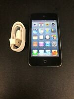 Apple iPod Touch 4th Generation Black (16 GB)   Good Pre Owned Bundle #7479