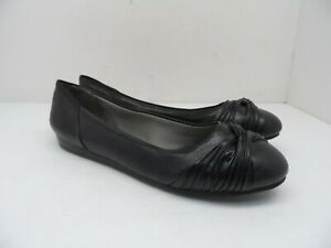 Life Stride Women's Notorious Loafer Flat Casual Dress Shoe Black Size 9.5W