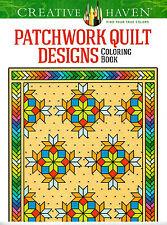 Creative Haven Patchwork Quilt Designs Coloring Book by Carol Schmidt (2014, PB)