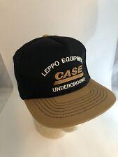 Leppo Equipment Case Underground Snaoback Hat Cap USA