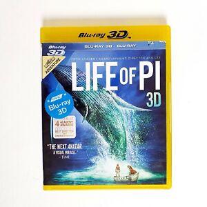 Life of PI Movie 3D Bluray Movie Free Postage Blu-ray - Adventure Journey