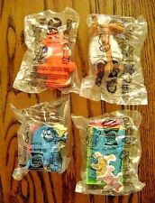 1999--THE SECRET FILES OF THE SPY DOGS (Complete SET of 4 Toys) Carl's Jr. [NIP]