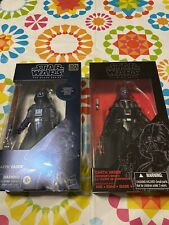 star wars black series exclusive lot darth vader carbonized and emperors wrath