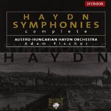 ADAM/AUSTRO-HUNGARIAN HAYDN ORCHESTRA FISCHER - SYMPHONIES (COMPLETE) 33 CD NEUF