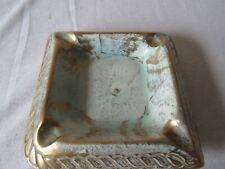 Vintage Stangl Anitque Gold Ashtray