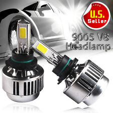 2X 9005/HB3/9145 LED Headlights Bulbs KIT High Beam 80W 8000LM Light 6000K HID