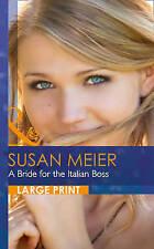 """VERY GOOD"" Susan Meier, A Bride for the Italian Boss (The Vineyards of Calanett"