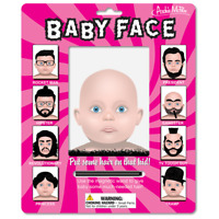 Archie Mcphee Baby Face Magnetic Drawing kit Fun Indoor Activity Game