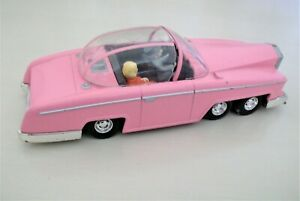 Vintage Corgi Pink Rolls Royce  FAB 1 with Lady Penelope & Parker -Thunderbirds