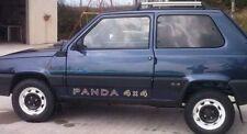Coppia adesivi FIAT PANDA 4X4  SPORTELLO DX E SX + Omaggio fedeli ad originali
