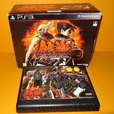 PLAYSTATION 3 PS3 HORI TEKKEN 6 WIRELESS ARCADE STICK BUNDLE PAL GAME BOOK BOXED