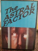 Astral Factor DVD Grindhouse Movie Horror Invisible Strangler 1970s New Sealed