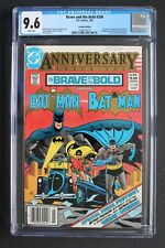 BRAVE and BOLD #200 1st KATANA TV Suicide Squad 1982 Canadian VARIANT CGC 9.6