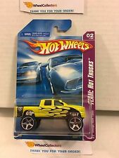 Dodge Ram 1500 #138 * Yellow w/ 5sp Variation * 2008 Hot Wheels * L14