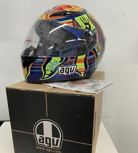 AGV K3 5-Continents Full Face Street Motorcycle Helmet Multicolor Size Small
