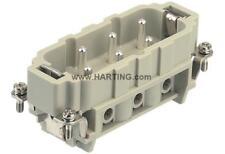 Connettore Harting 6P maschio  09310062601  HAN 6 HSB M S