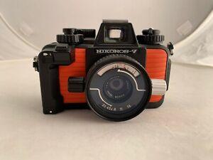 Nikon Nikonos-V Underwater Camera w/ 35mm F/2.5 Lens