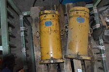 2 x Hebebock hydraulisch  ca. 100 -150t  Spezialzylinder Hubzylinder