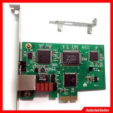 TE110PE 1 Port T1 Card E1 Asterisk Card FreePBX AsteriskNow ISDN PRI Card IP PBX