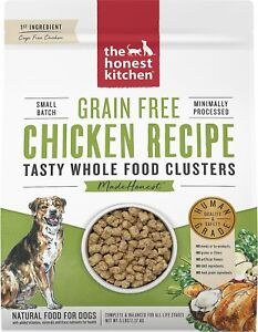 The Honest Kitchen Grain Free Whole Food Clusters Dog Food - CHOOSE FLAVOR - NEW