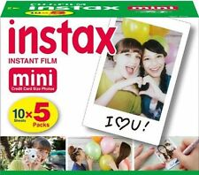 50 Prints Fujifilm Instax Mini Instant Film for Fuji 9 8 7S 50S 90 25 Camera