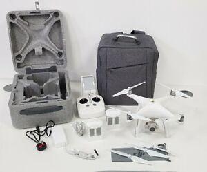 DJI Phantom 4 Aerial UAV Drone Quadcopter - White