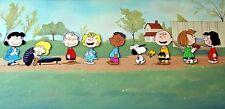Peanuts 10 Characters Original Pan Publicity Cel (Bill Melendez Studios, 1970s)