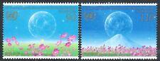 Japan 2006 SC 2964-5 - 50th Anniv Japan Accession to UN  - Mt Fuji Paintings MNH