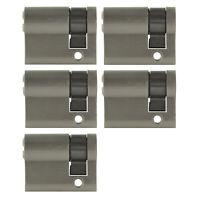5x Halbzylinder 40mm 30/10 +25 Schlüssel Tür Zylinder Schloss gleichschließend